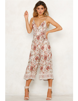 Right Back At It Jumpsuit Rose by Hello Molly
