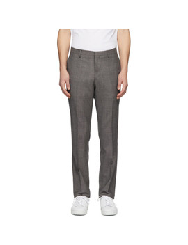 Brown Talthe Trousers by Tiger Of Sweden