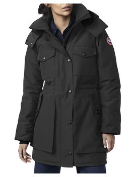 Gabriola Hooded Parka Coat W/ Reflective Back by Canada Goose