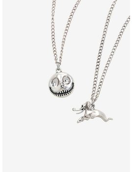 The Nightmare Before Christmas Jack Skellington Zero Best Friends Necklace Set by Hot Topic