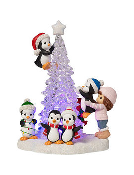 Tree Mendous Fun Lighted Figurine by Precious Moments