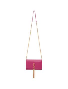 Pink Kate Wallet Chain Bag by Saint Laurent