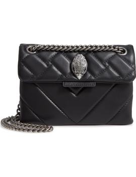 Mini Kensington Quilted Leather Crossbody Bag by Kurt Geiger London