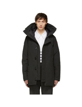 Black Down Chateau Parka by Canada Goose