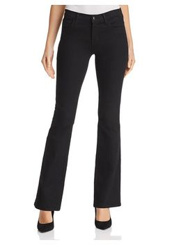 Sallie Mid Rise Bootcut Jeans In Vanity by J Brand