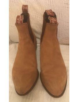 R M Williams Ladies Tan Suede Boots. Uk 6. &Nbsp;Worn In Film God Help The Girl. &Nbsp; by Ebay Seller