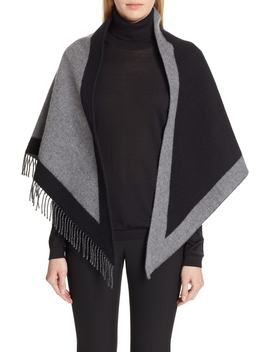graphic-crest-fringe-bandanna-scarf by burberry