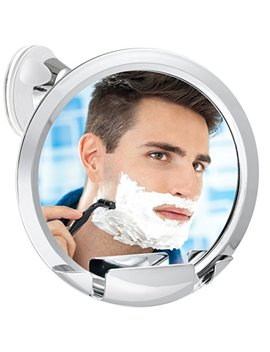 Fogless Shower Mirror With Built In Razor Holder | 360° Rotation | Real Fog Free Shaving | Adjustable Arm & | Shatterproof & Rust Resistant | Non Fogging... by Asani