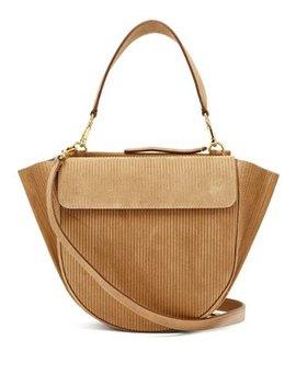 Hortensia Medium Corduroy Shoulder Bag by Wandler