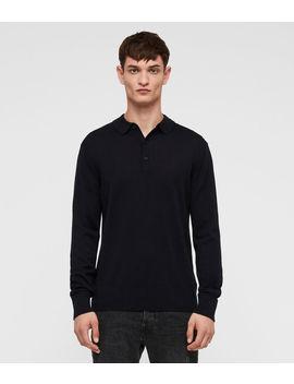 Lang Merino Polo Shirt by Allsaints