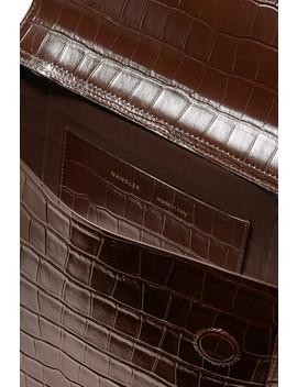 Hortensia Medium Croc Effect Leather Shoulder Bag by Wandler