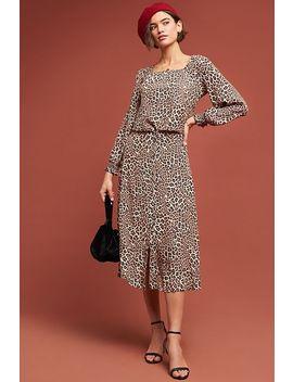 Eva Leopard Skirt by Kachel
