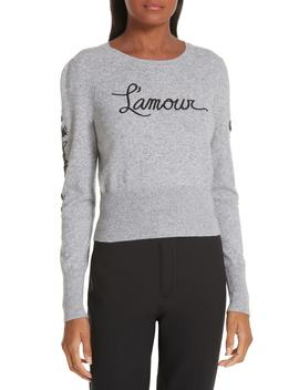 Kian Embellished Wool & Cashmere Blend Sweater by Cinq À Sept
