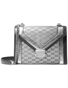 Whitney Metallic Signature Small Shoulder Bag by Michael Michael Kors