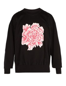 X James Harden Floral Print Cotton Sweatshirt by Y 3