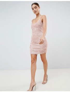 Missguided Fringe Bodycon Dress by Missguided