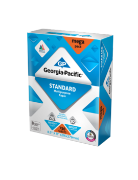 "Georgia Pacific Standard Paper 8.5"" X 11"", 20lb/92 Bright, 750 Sheets by Georgia Pacific"