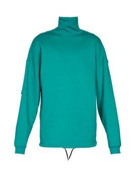 High Neck Layered Sleeve Sweatshirt by Balenciaga
