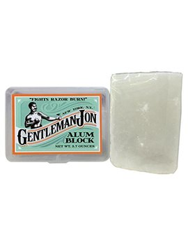 Gentleman Jon 3.7 Ounce Alum Block In Plastic Case by Gentleman Jon