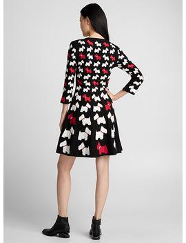 Scotty Dog Dress by Boutique Moschino
