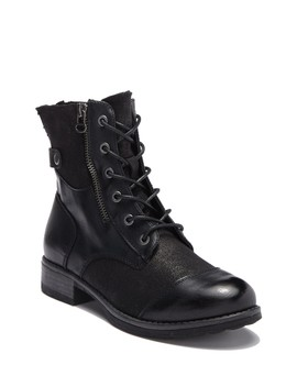 Teriann Canvas Lace Up Boot by Dirty Laundry