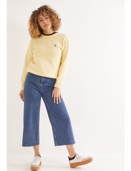 Vintage Ralph Lauren Knitted Jumper Yellow by Polo Ralph Lauren