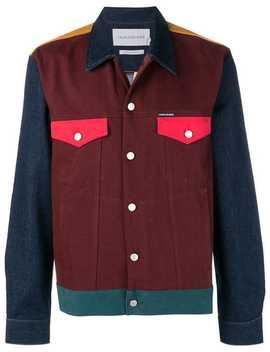 Panelled Denim Jacket by Calvin Klein Jeans