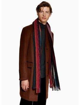 Zig Zag Knitted Scarf by Topman