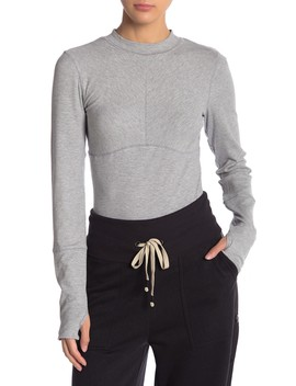 Laura Long Sleeve Rib Knit Tee by Free People