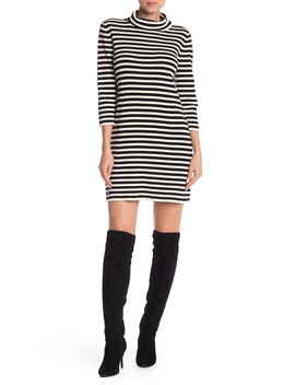 Striped Cowl Neck Dress by Marc Jacobs