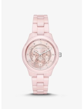 Runway Ceramic Watch by Michael Kors