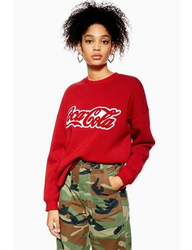 Coca Cola Sweatshirt By Tee And Cake by Topshop