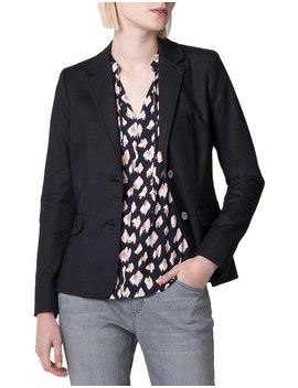 Cotton Notch Collar Blazer by Trenery