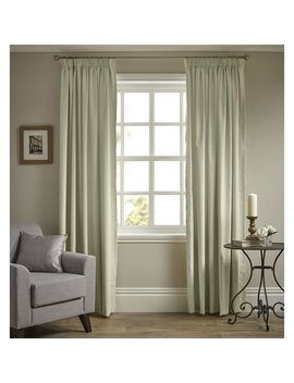 Wilko Pencil Pleat Thermal Blackout Curtains Cream167 X 137cm Wilko Pencil Pleat Thermal Blackout Curtains Cream167 X 137cm by Wilko