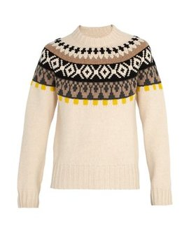Bohus Knit Wool Sweater by Maison Margiela