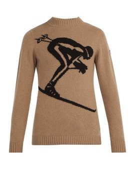Skieur Wool And Cashmere Blend Sweater by Fusalp