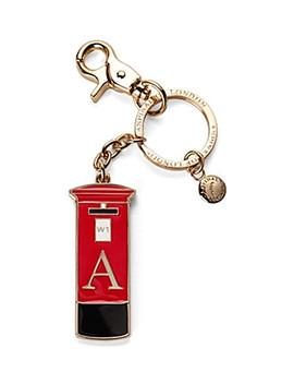 London Post Box Key Ring by Aspinal Of London