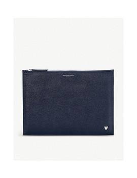 Men's Soho Leather Clutch by Aspinal Of London