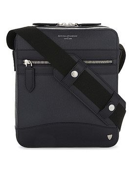 Anderson Leather Midi Messenger Bag by Aspinal Of London
