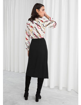 Wrap Midi Skirt by & Other Stories