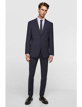 Water Repellent Suit Jacket  Tailored Blazers Man by Zara