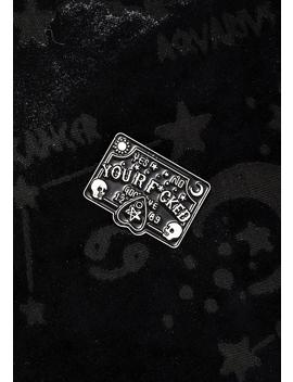 Spirit Contact Enamel Pin by Killstar