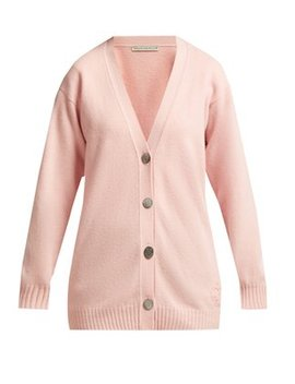 Mc Laren Crown Embroidered Wool Cardigan by Queene And Belle