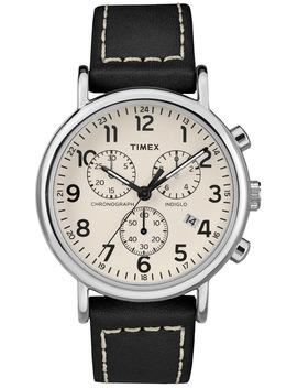 Tw2 R42800 Weekender Chrono Watch by Timex