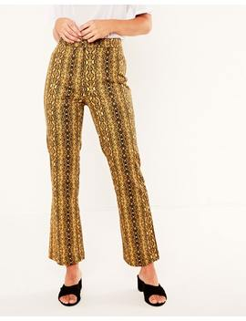 Split Flare Pant by Glassons