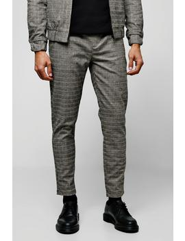 Heritage Mini Check Smart Jogger Co Ord by Boohoo