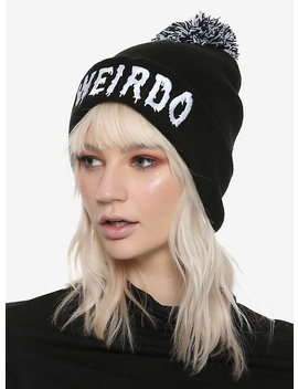 Weirdo Pom Beanie by Hot Topic