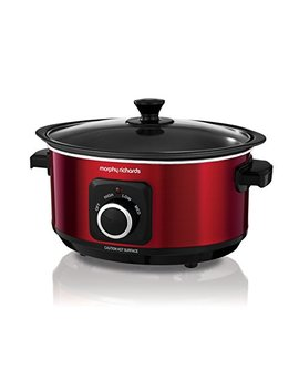 Morphy Richards Slow Cooker Sear And Stew 460014 3.5 L Red Slowcooker by Morphy Richards