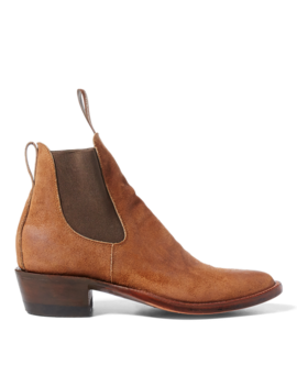 Chelsea Plainview Suede Boot by Ralph Lauren