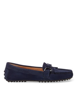 Suede Loafer by Ralph Lauren